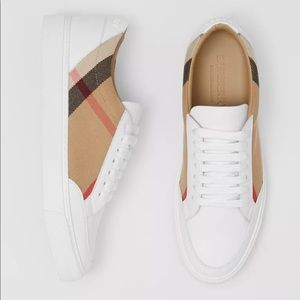 Burberry Women's House Check Leather Sneakers